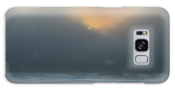 Galaxy Case featuring the photograph Stormy Sunset Oregon Coast by Yulia Kazansky
