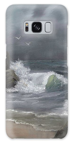 Stormy Waters Galaxy Case by Sheri Keith