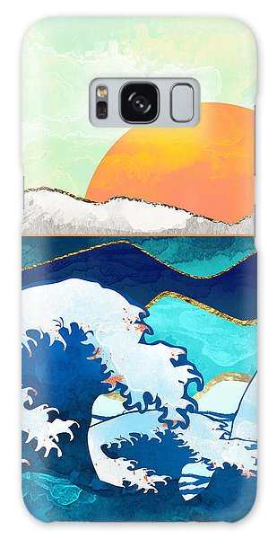 Landscapes Galaxy Case - Stormy Waters by Spacefrog Designs