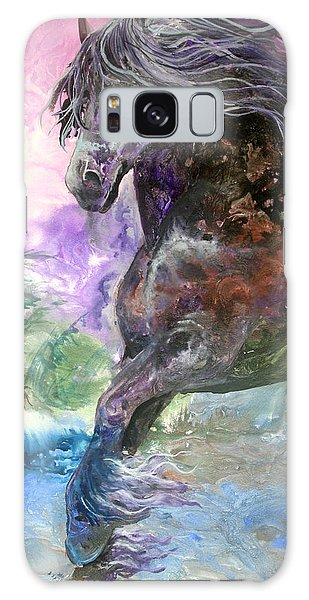 Stormy Wind Horse Galaxy Case