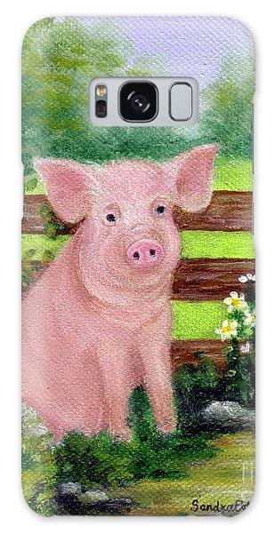 Storybook Pig Galaxy Case by Sandra Estes