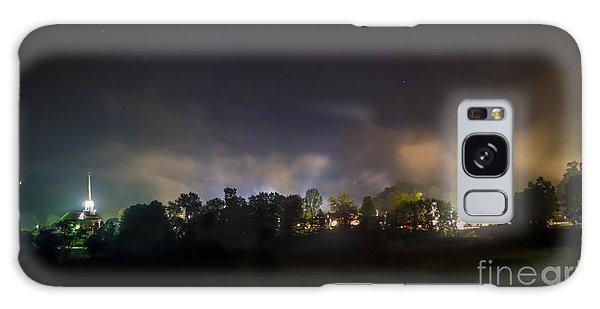 Stowe Vermont After Dark. Galaxy Case