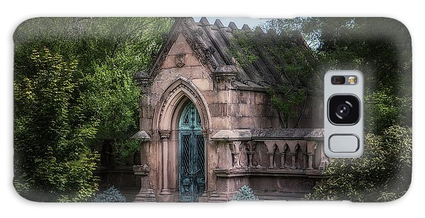 Cemetery Galaxy Case - Strader Mausoleum by Tom Mc Nemar