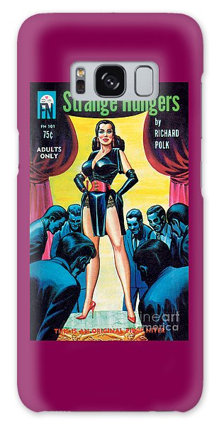 Strange Hungers Galaxy Case by Eric Stanton