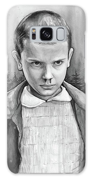 Science Fiction Galaxy Case - Stranger Things Fan Art Eleven by Olga Shvartsur