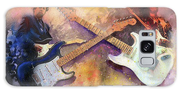 Eric Clapton Galaxy Case - Strat Brothers by Andrew King