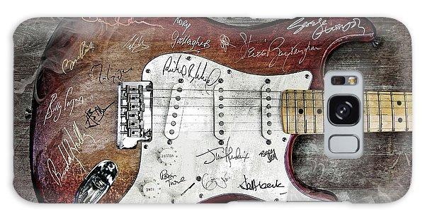 Eric Clapton Galaxy Case - Strat Guitar Fantasy by Mal Bray