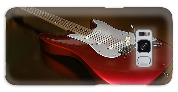 Stratocaster On A Golden Floor Galaxy Case