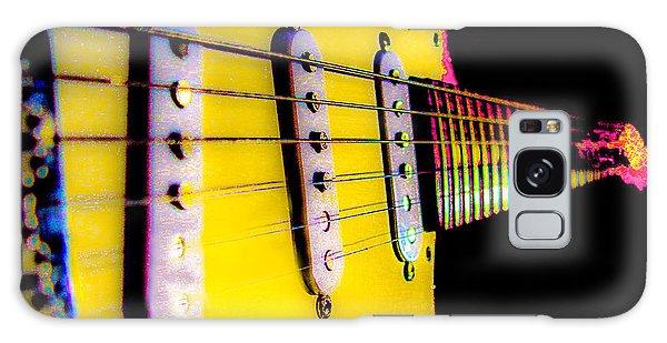 Stratocaster Pop Art Pink Fire Neck Series Galaxy Case