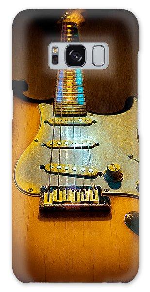 Stratocaster Tobacco Burst Glow Neck Series  Galaxy Case