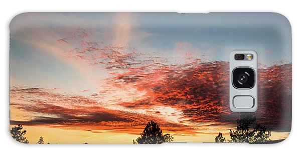Stratocumulus Sunset Galaxy Case