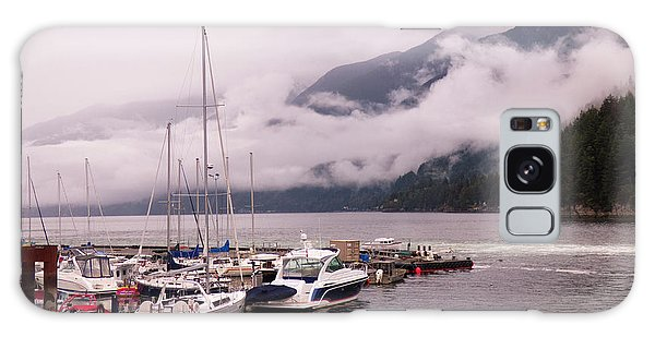 Stratus Clouds Over Horseshoe Bay Galaxy Case