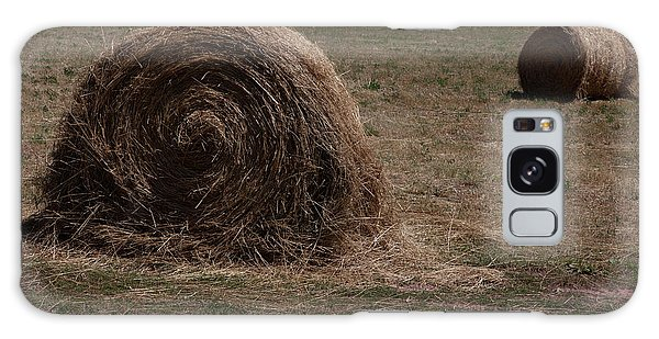 Straw Bales Galaxy Case