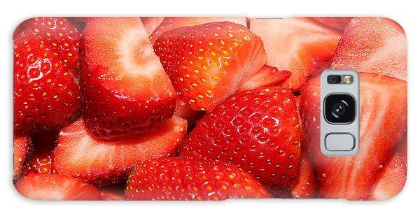 Strawberries 32 Galaxy Case