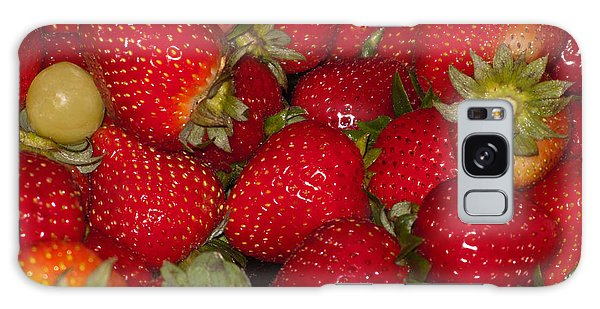Strawberries 731 Galaxy Case