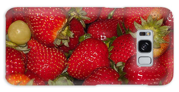 Strawberries 731 Galaxy Case