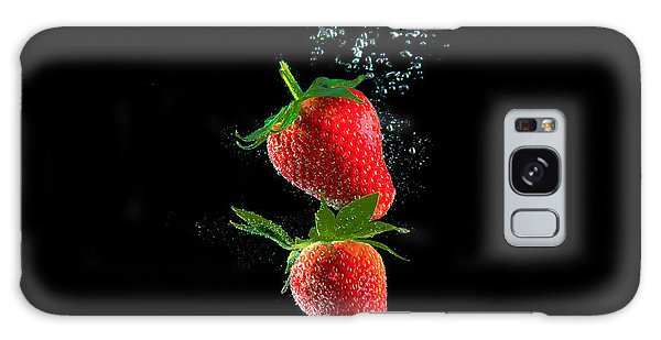 Strawberry Falls Galaxy Case