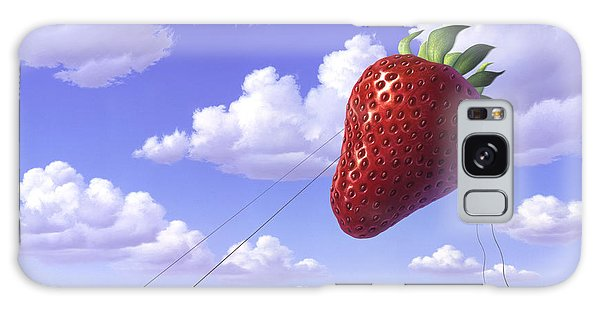 Strawberry Galaxy Case - Strawberry Field by Jerry LoFaro