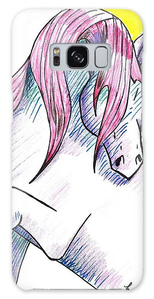Strawberry Horse Galaxy Case