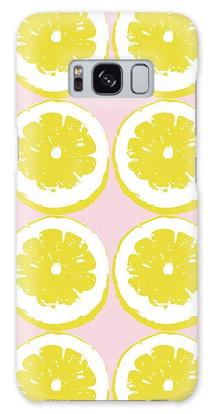 Strawberry Galaxy Case - Strawberry Lemonade- Art By Linda Woods by Linda Woods