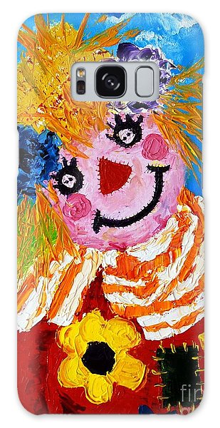 Strawberry Sally Scarecrow Galaxy Case