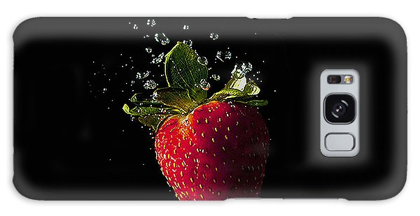 Strawberry Splash Galaxy Case