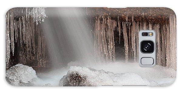 Stream Of Frozen Hope 2 Galaxy Case by Nicolas Raymond
