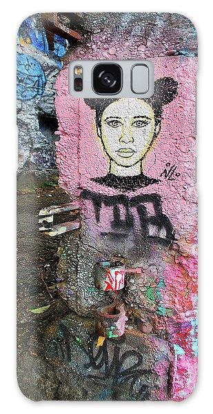 Galaxy Case featuring the photograph Street Art by Bill Thomson