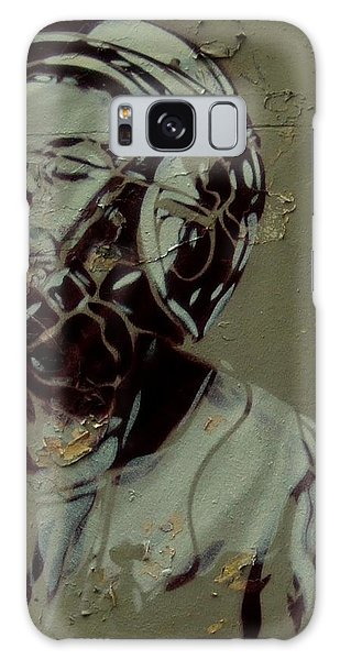 Wheat Paste Art Abstract  Galaxy Case by Sheila Mcdonald