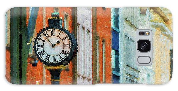 Street Clock In Cork Galaxy Case