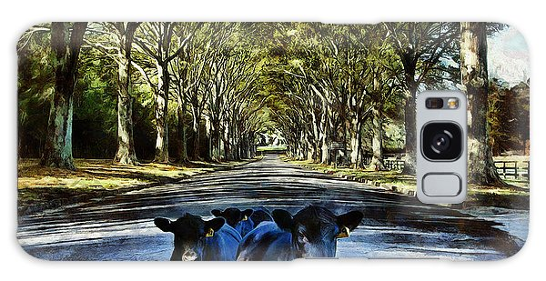 Street Cows Galaxy Case