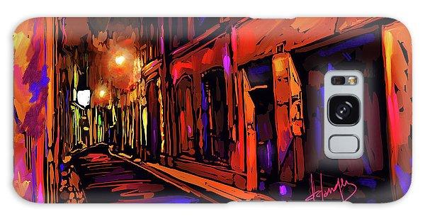 Street In Avignon, France Galaxy Case