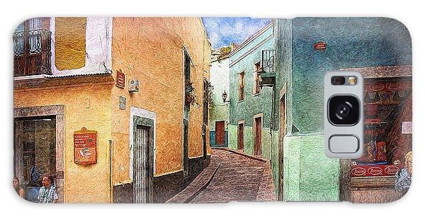 Street In Guanajuato Galaxy Case