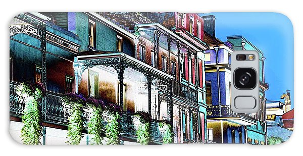 Street In New Orleans Galaxy Case