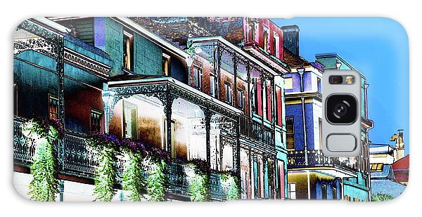 Street In New Orleans Galaxy Case
