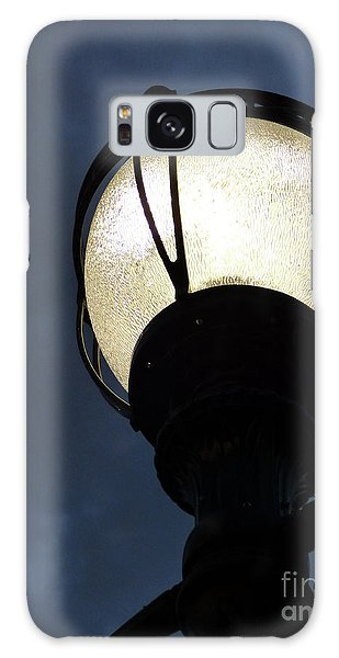 Street Lamp At Night Galaxy Case