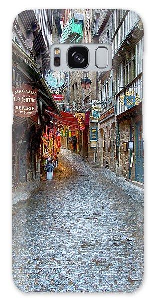 Street Le Mont Saint Michel Galaxy Case