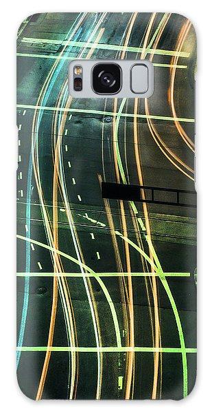 Street Lights Galaxy Case by Scott Meyer