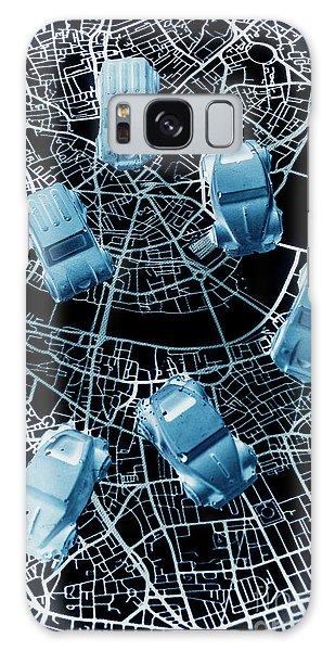 Navigation Galaxy Case - Street Racers Gps by Jorgo Photography - Wall Art Gallery