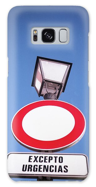 Street Sign Galaxy Case