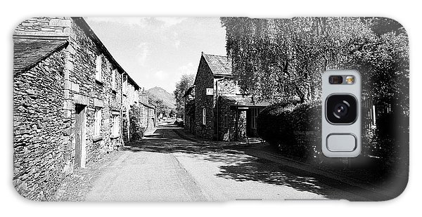 Grasmere Galaxy Case - Street Through Traditional Lake Stone Slate Built Cottages In The Hamlet Of Town End Near Grasmere L by Joe Fox