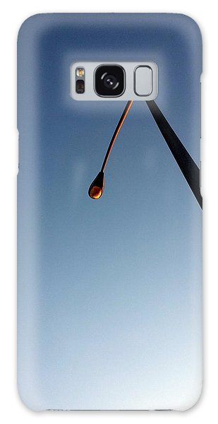 Streetlight At Dusk Galaxy Case