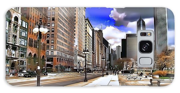 Streets Of Chicago Galaxy Case