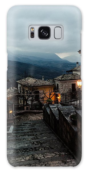 Streets Of Italy - Caramanico 3 Galaxy Case