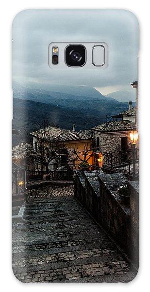 Streets Of Italy - Caramanico 3 Galaxy Case by Andrea Mazzocchetti