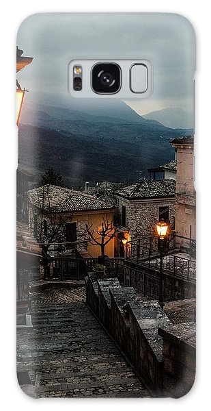 Streets Of Italy - Caramanico Galaxy Case