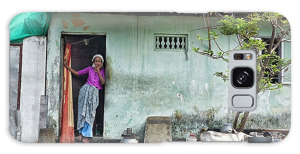 Streets Of Kochi Galaxy Case by Marion Galt