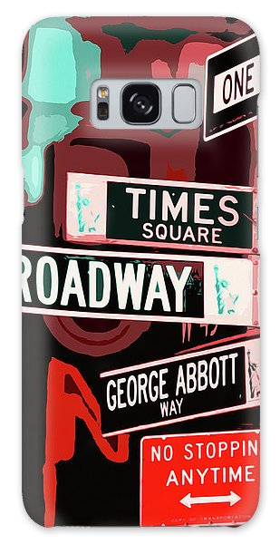 Traffic Signals Galaxy Case - Streets Of New York - 01 by Andrea Mazzocchetti