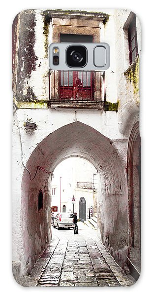 Streets Of Ostuni Galaxy Case