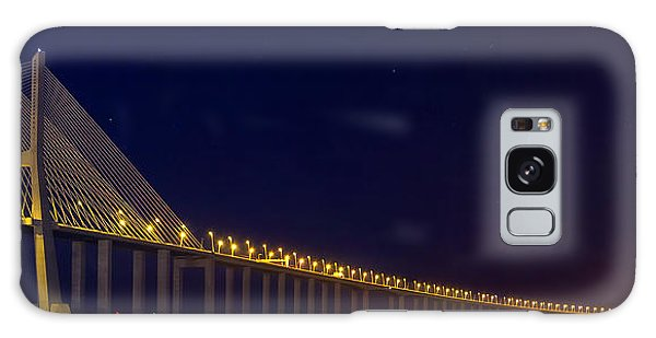 Galaxy Case featuring the photograph Stretching Into Infinity by Bruno Rosa